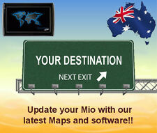 Update your Mio GPS unit with the 2017 australia & NZ maps and software