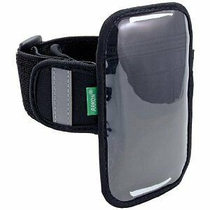 Arkon XXL- Armband For large Smartphones Fits 4.3 in TO 4.7 in, Clear & Black