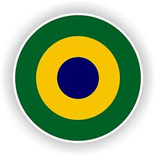 Brazilian Navy Sticker roundel decal Brazil round Car Motorcycle Laptop Bumper