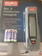 Bau- und Holzfeuchtemessgerät von DURO Feuchtemesser Feuchtigkeitsmessgerät NEU!