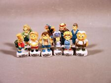 Simpsons Feve French Mini Porcelain Figurines Simpson's School Set of 10