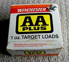 vintage 1970s WINCHESTER shotgun shell box AA PLUS 12 gauge target EMPTY retro