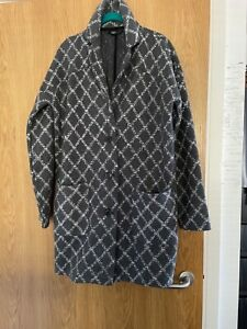 Next Grey coatigan size Meduim 12-14