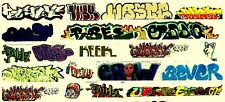 HO COLORFUL GRAFFITI DECALS ASSORTMENT 76  FREE SHIPPING DOMESTIC