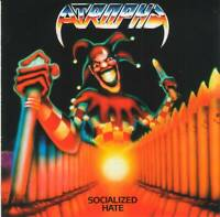 ATROPHY - SOCIALIZED HATE (1988) Thrash Speed Metal CD Jewel Case+FREE GIFT