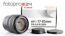 Cannon EF-S 17-85 mm 4-5.6 IS USM + OVP + Gut (236840)