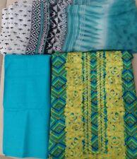 Designer Embridary lawn Indian Pakistani unstitched suit Kameez Shalwar, dupatta