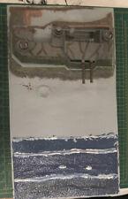 Airfix 1:72 1:76 Coastal defensa Fort Diorama kit modelo de base de Battlefield comenzó