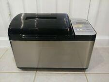 New listing Zojirushi Home Bakery Virtuoso Bb-Pac20 Bread Machine Stainless Black Tested