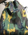 Camouflage Drawstring Goodie Bag ~ 7 Pieces Total ~