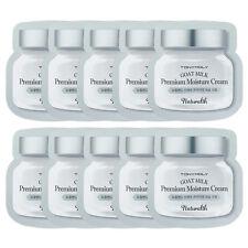 TonyMoly Naturalth Goat Milk Premium Moisture Cream Sample 10Pcs Free Sample Gif