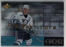 Paul Kariya 2000-01 Upper Deck Ice Anaheim Ducks Cool Competition Insert #CC1
