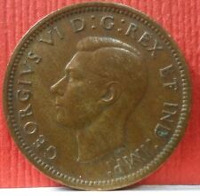Canadian 1 Cent George VI 1939 KM # 32  A-719