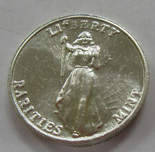 Rare Liberty Rarities Mint 1 Ounce .999 Fine Silver Art Round
