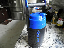 New Igloo Proformance Beverage Cooler Black/Majestic Blue Large Size