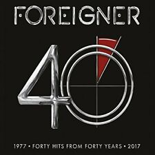 Foreigner - Hits from 40 Years 1977 - 2017  Greatest Hits / Best Of CD Neu & OVP