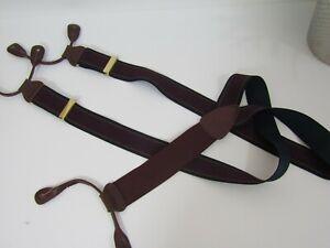 Classic Stripe Convertible Purple & Blue Trafalgar Limited Edition Suspenders