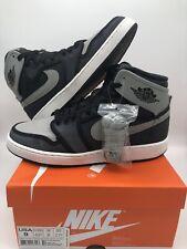 Nike Air Jordan 1 High Retro Ajko Size 9 Shadow Black Grey White