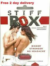 Stay Hard! Stiff Rox #1 Best Male Performance Enhancer Stamina Enhancement Pills