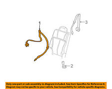 GM OEM Rear Seat Belt-Belt & Buckle Retractor Right 19177473