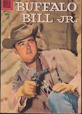 4-COLOR  #766 1957 DELL -BUFFALO BILL JR. WESTERN/ TV SERIES PHOTO-c ...VF
