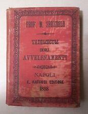 VADEMECUM DEGLI AVVELENAMENTI SBRIZIOLO 1888