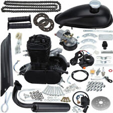 Excellent Black 80cc Motor Engine Kit Gas for Motorized Bicycle Bike 2-Stroke