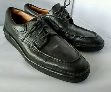 E.T Wright Men's Black Lace Up Loafers Oxfords Shoes 12