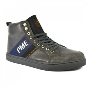 PME LEGEND Shadow Sneakers PBO66033 Leder Herren High Top Sneaker