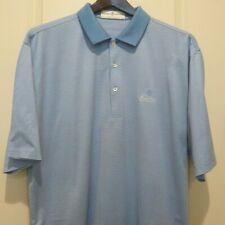 Fairway & Greene Golf Shirt ...XL..Blue/White Stripes