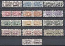 LIBIA 1915-24 Pacchi Postali MNH** (PP)