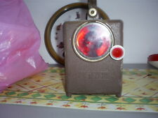 ancienne lampe sncf garde-barriere vintage dans son jus tbe vintage