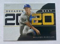 2020 Topps Series 1 WALKER BUEHLER Decade's Next Insert Dodgers #DN-17