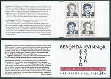 1996 EUROPA SVEZIA LIBRETTO MNH ** - VS