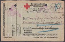 1918 Russia Area Red Cross / Prisoner of War / POW / Censor Postcard; see scans