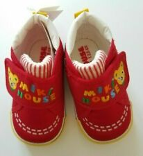 New Miki House Children's Red Strap Shoes [Sizes 12 - 14.5cm]