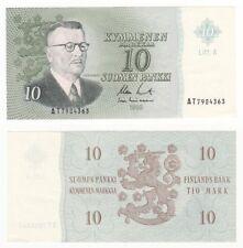 FINLAND 10 Markkaa Banknote (1963) Pick ref: 104a - EF.