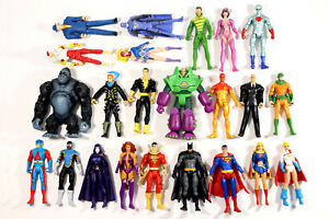 DC Universe Infinite Heroes Crisis Superman Batman Shazam Lot of 23 Loose Mattel