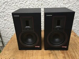SAMSON RUBICON R6A ACTIVE MONITOR SPEAKERS WITH RIBBON TWEETERS - GOOD CONDITION