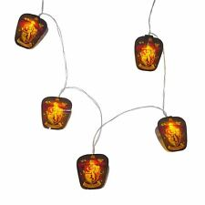 Harry Potter Gryffindor Crest Yellow LED String Lights Battery Powered