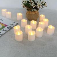 12pcs LED Kerze Außen mit Timer flackernde Kerzen flackernd Outdoor Garten Balko