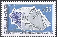 France 1974 Club Alpin/ALPINISME/GENTIANE/Sports/FLEURS 1 V (n43854)