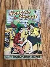 Vintage 1957 Chicago Roller Skate Company Secrets Skating Skills Comic Book