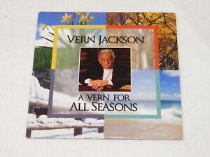 Vern Jackson A Vern for All Seasons CD 2004 Trinity Christian Center Pre-owned