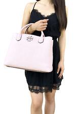 9b464cd55970 Tory Burch McGraw Leather Triple Compartment Satchel Pink Quartz Crossbody