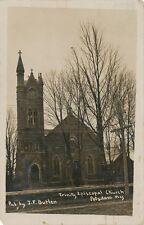 Potsdam NY * Trinity Episcopal Church RPPC 1909 * J.F. Butler * St. Lawrence Co.