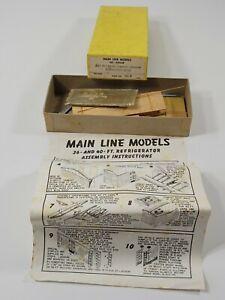 Main Line Models HO Scale 36' Owner Reefer Budweiser Beer Wood Kit
