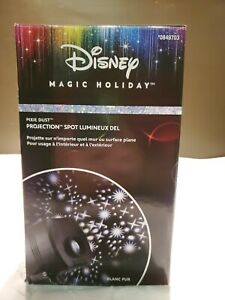 """Disney Magic Holiday """"Pixie Dust"""" LED Projection Spotlight by Gemmy - NEW"""