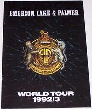 Emerson Lake and Palmer ELP 1992 1993 Tour Book Concert Program VGC