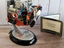 Franklin Mint 1957 Chevy Corvette Cutaway 283 V-8 Car Engine 1:6 Scale Diecast